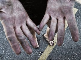 Can't say I'm scared to get my hands dirty!